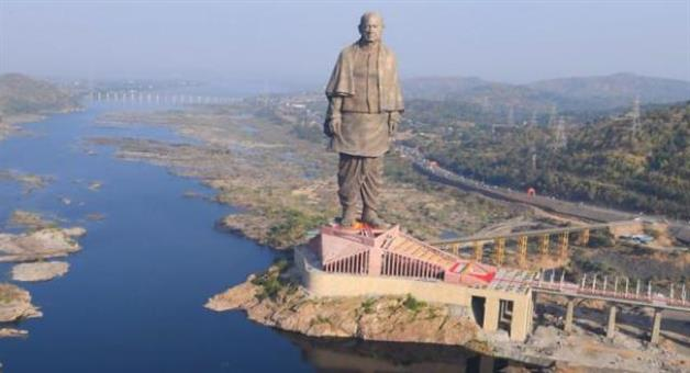 Khabar Odisha:Nation-Statue-of-unity-in-Gujarat-surpasses-daily-average-footfall-at-Statue-of-Liberty-of-USA