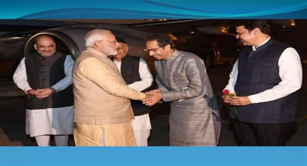 Khabar Odisha:Nation-Uddhav-Thackeray-meets-PM-Narendra-Modi-for-first-time-after-becoming-chief-minister