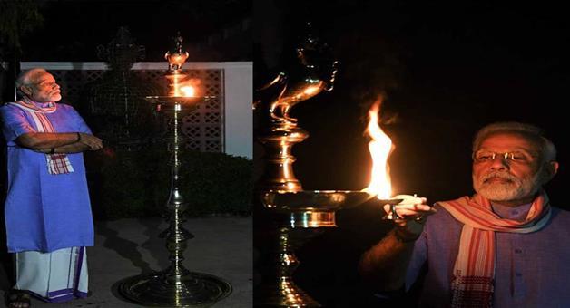 Khabar Odisha:Nation-coronaviruss-negativity-faded-away-special-diwali-celebrated-on-pm-modis-appeal