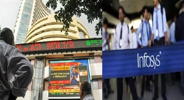 Khabar Odisha:National-Business-Odisha-infosys-stock-down-more-than-10-percent-biggest-single-day-fall-in-6-years-after-whistleblower-allegations