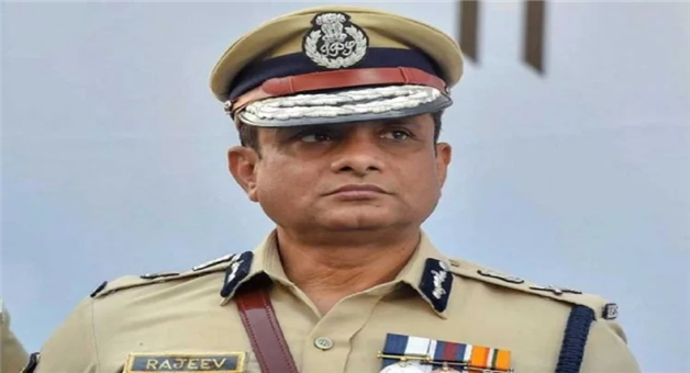 Khabar Odisha:National-Odisha-a-cbi-team-reaches-the-residence-of-former-kolkata-police-commissioner-rajeev-kumar