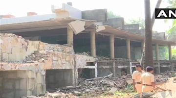 Khabar Odisha:National-Odisha-pnb-scam-authorities-continues-demolition-of-nirav-modi-bungalow-in-alibaug