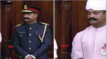Khabar Odisha:National-news--250th-Session-Of-Rajya-Sabha-Marshals-Uniform-Changed