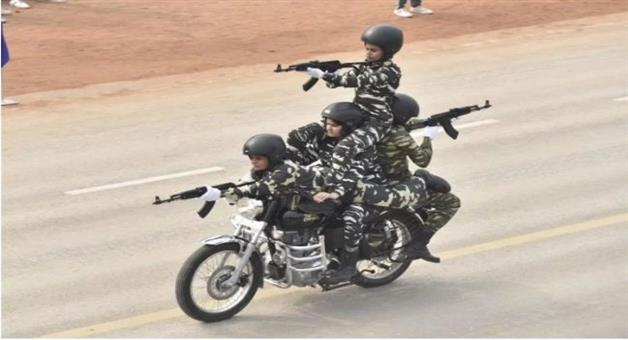 Khabar Odisha:National-news--First-Time-In-Women-Crpf-Daredevils-Will-Show-Amazing-Feat-In-Republic-Day