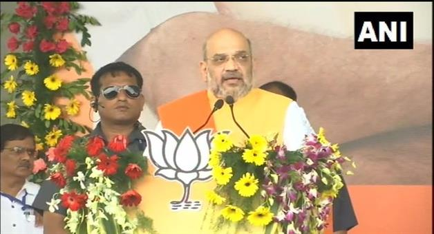 Khabar Odisha:National-news-Amit-Shah-And-Jharkhand-CM-Raghubar-Das-Attacks-On-Congress-Jmm-Jvm-In-Jan-Ashirwad-Yatra