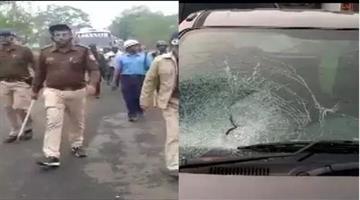 Khabar Odisha:National-news-Anti-Caa-Protests-Turn-Violent-Murshidabad-In-West-Bengal