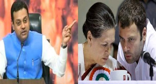 Khabar Odisha:National-news-Gandhis-playing-musical-chair-amongst-themselves-sambit-patra