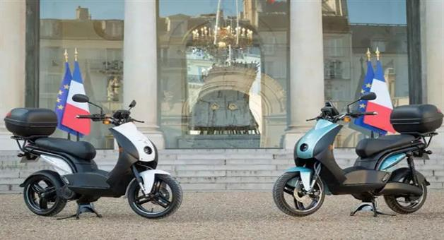 Khabar Odisha:National-news-Made-In-India-Peugeot-E-Ludix-Electric-Scooter-Joins-French-Presidential-Fleet