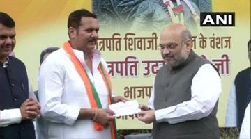 Khabar Odisha:National-news-NCP-MP-Udayanraje-To-Join-BJP-On-September-14-In-PM-Modi-Presence