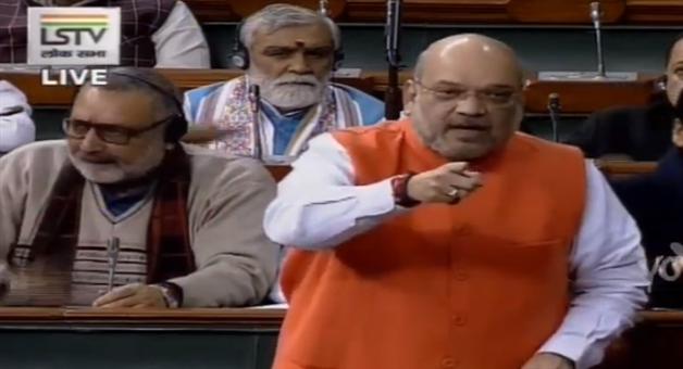Khabar Odisha:National-news-Parliament-Winter-Session-2019-Amit-Shah-Angry-On-Congress-MPs-In-Smriti-Irani-Case