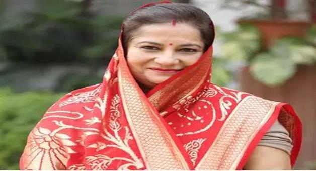 Khabar Odisha:National-news-Pratapgarh-Big-Blow-To-Congress-As-Ex-Mp-Rajkumari-Ratna-Singh-Joins-Bjp-In-Presence-Of-Yogi-Adityanath