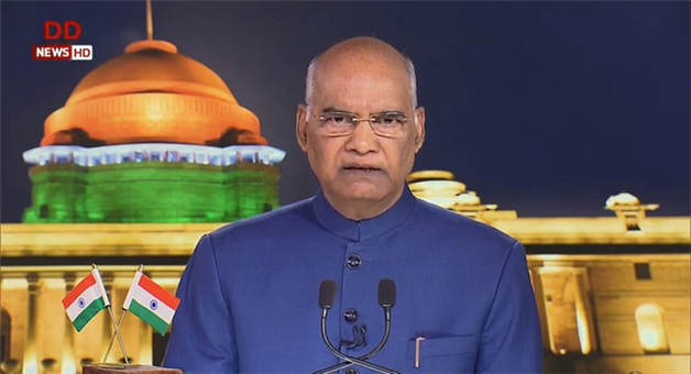 Khabar Odisha:National-news-Scrapping-Of-Article-370-Is-In-Interest-Of-People-Of-Jammu-And-Kashmir-Says-President-Ramnath-Kovind