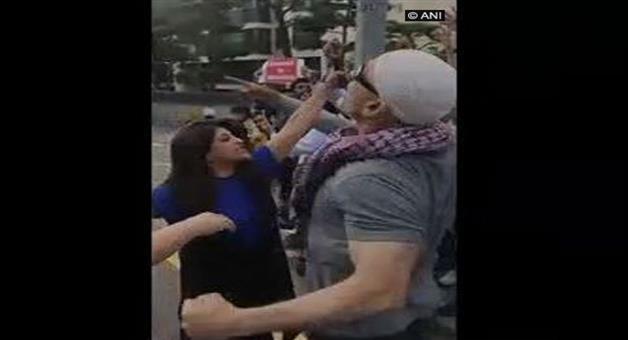 Khabar Odisha:National-news-Shazia-Ilmi-Says-3-Vs-300-Confronted-Anti-India-Slogans-In-Seoul-South-Korea