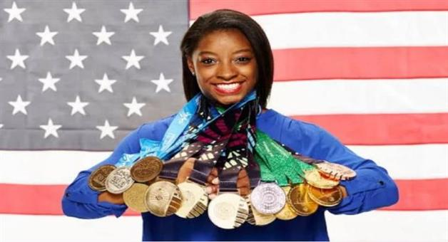 Khabar Odisha:National-news-USA-Simone-Biles-Win-GOLD-In-Balance-And-Become-The-Most-Decorated-World-Championship-Gymnast