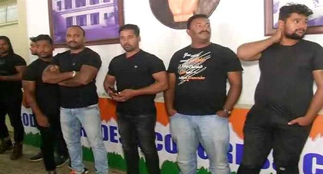 Khabar Odisha:National-news-itish-pradhan-registered-case-aganist-bouncer-matter-in-congress-bhawan