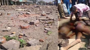 Khabar Odisha:National-odisha-crackers-merchant-house-explode-in-bhadohi