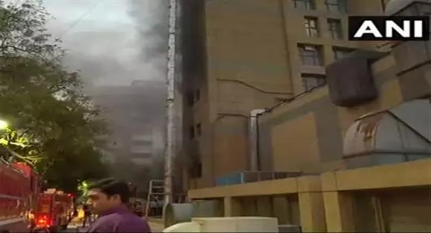 Khabar Odisha:National-odisha-fire-breaks-out-at-an-operation-theatre-in-aiims-trauma-center