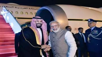 Khabar Odisha:National-odisha-pm-narendra-modi-receives-saudi-arabia-crown-prince-mohammed-bin-salman