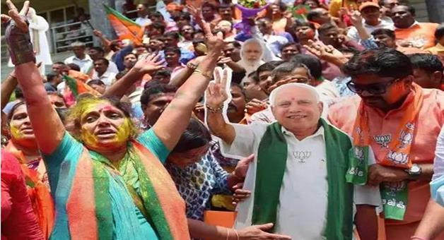 Khabar Odisha:National-politics-Karnataka-Byelection-Results-Bjp-Set-To-Capture-12-Out-Of-15-Seats