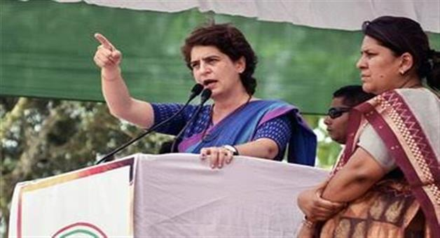 Khabar Odisha:National-politics-uttar-pradesh-congress-leaders-are-not-happy-with-the-way-priyanka-gandhi-works