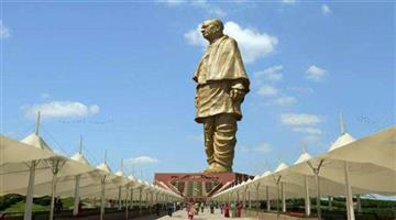 Khabar Odisha:National-statue-of-unity-earns-more-than-taj-mahal-in-one-year