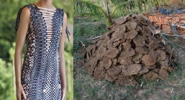 Khabar Odisha:Netherlands-startup-prepared-cloth-from-cow-dung