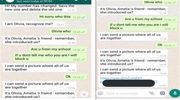 Khabar Odisha:New-WhatsApp-spam-named-Olivia-Hoax-is-targeting-young-children-by-befriending-them-Odisha-CrimeBraanch-Alert