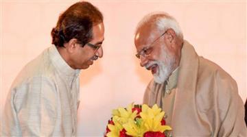 Khabar Odisha:New-equation-in-politics-in-Maharashtra-Chief-Minister-Uddhav-Thackeray-praises-PM