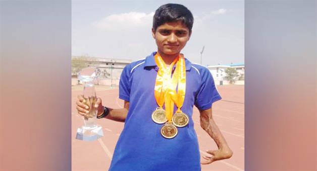 Khabar Odisha:Odia-girl-Jayanti-behera-clinches-bronze-in-Asian-Para-Games