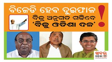 Khabar Odisha:Odisha-BJD-Politics--Damador-Rout-Expelled