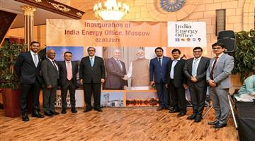 Khabar Odisha:Opening-of-India-Energy-Office-in-Moscow