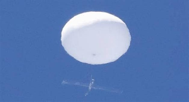 Khabar Odisha:People-are-terrified-of-the-mysterious-balloon-that-appears-in-the-Japanese-sky