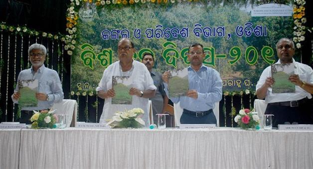 Khabar Odisha:Plantation-drive-in-town