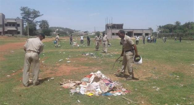 Khabar Odisha:Police-involve-in-swachhabharat-mission