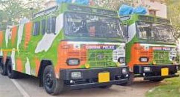Khabar Odisha:Police-purchase-4-vehicle-for-centrop-mob