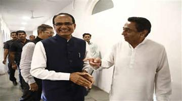 Khabar Odisha:Politics-After-snatching-the-Cm-post-from-Kamalnath-BJP-leader-Shivraj-Singh-Chouhan-reached-at-his-residence