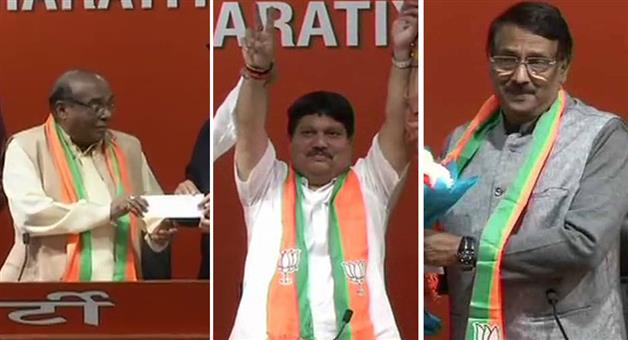 Khabar Odisha:Politics-BJP-Three-leaders-from-three-states-join-Bharatiya-Janata-Party