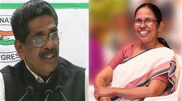 Khabar Odisha:Politics-Cong-Kerala-chief-calls-health-minister-covid-queen-cpi-m-terms-remark-sexistdemands-apology