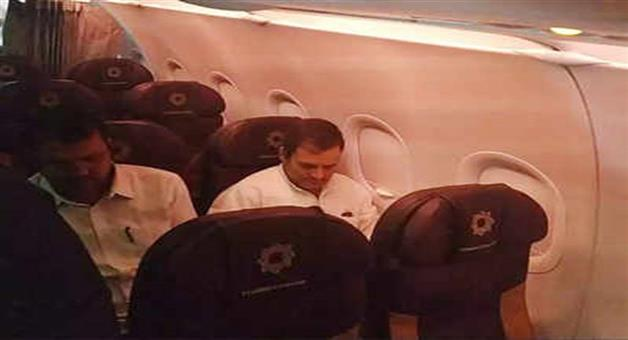 Khabar Odisha:Politics-Congress-MP-Rahul-Gandhi-left-for-Bangkok-by-Vistara-airlines