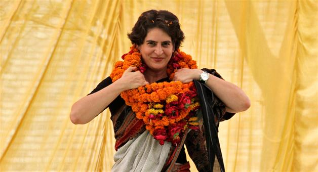 Khabar Odisha:Politics-Congress-workers-want-party-to-project-Priyanka-Gandhi-as-CM-candidate-for-UP-Assembly-poll