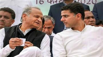 Khabar Odisha:Politics-Farmers-protest-Rajasthan-CM-Ashok-Gehlot-and-Sachin-Pilot-come-together-on-a-stage