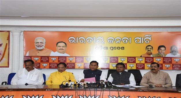 Khabar Odisha:Politics-Odisha-BJP-Targets-BJD-For-Assembly-Closed