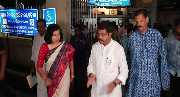 Khabar Odisha:Politics-Odisha-Dharmendra-Pradhan-says-for-the-fear-of-defeat-bjd-again-and-again-attacked-on-BJP