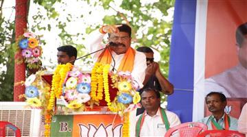 Khabar Odisha:Politics-Odisha-Dharmendra-Pradhan-promise-to-pipli-people-in-election-campaign
