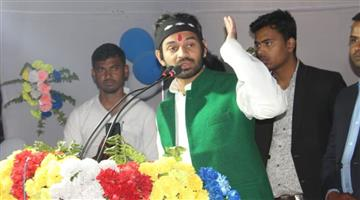Khabar Odisha:Politics-RJD-We-will-build-Ram-Mandir-RJD-leader-Tej-Pratap-Yadav