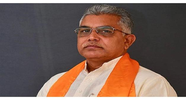 Khabar Odisha:Politics-West-Bengal-BJP-state-president-Dilip-Ghosh-convoy-attacked-in-Coochbehar