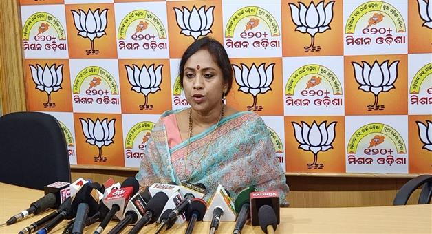 Khabar Odisha:Politics-odisha-Naveen-did-not-want-strong-govt-in-centre-say-bjp