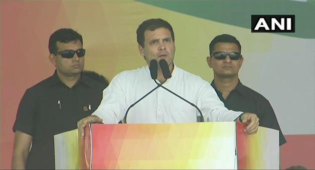 Khabar Odisha:Politics-odisha-Rahul-gandhi-slams-both-naveen-and-Modi-government-on-bargarh-rally