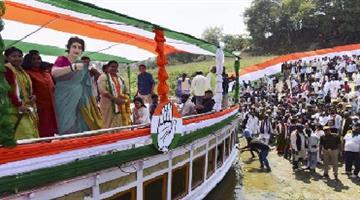 Khabar Odisha:Politics-odisha-allahabad-priyanka-gandhi-boat-yatra-for-lok-sabha-election-2019