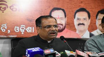 Khabar Odisha:Politics-odisha-bjp-spokesperson-pitambar-acharya-slams-bjd